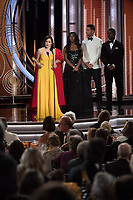 Rachel Brosnahan accepts the Golden Globe Award for BEST PERFORMANCE BY AN ACTRESS IN A TELEVISION SERIES &ndash;  MUSICAL OR COMEDY for her role in &quot;The Marvelous Mrs. Maisel&quot; at the 76th Annual Golden Globe Awards at the Beverly Hilton in Beverly Hills, CA on Sunday, January 6, 2019.<br /> *Editorial Use Only*<br /> CAP/PLF/HFPA<br /> Image supplied by Capital Pictures