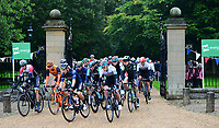 Picture by Simon Wilkinson/SWpix.com 05/09/2017 - Cycling OVO Energy Tour of Britain - Stage 3 Normanby Hall to Scunthorpe - the start at Normanby Hall, Lincolnshire - The Peloton at the start