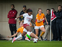 STANFORD, CA - November 23, 2018: Catarina Macario at Laird Q. Cagan Stadium. The top seeded Stanford Cardinal defeated the Tennessee Volunteers 2-0 in the Quarterfinal of the NCAA tournament.