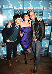 Andy Mientus, Julia Murney and Claybourne Elder attending the Off-Broadway Opening Night Performance After Party for 'Falling' at Knickerbocker Bar & Grill on October 15, 2012 in New York City.