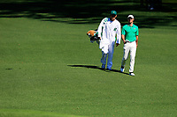 Rory McIlroy (NIR) on the 2nd fairway during Wednesdays preview at the The Masters , Augusta National, Augusta, Georgia, USA. 10/04/2019.<br /> Picture Fran Caffrey / Golffile.ie<br /> <br /> All photo usage must carry mandatory copyright credit (&copy; Golffile | Fran Caffrey)