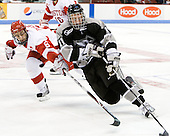 Joe Pereira (BU - 6), Tim Schaller (Providence - 11) - The Boston University Terriers defeated the visiting Providence College Friars 2-1 on Saturday, October 23, 2010, at Agganis Arena in Boston, Massachusetts.