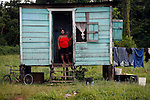 BELIZE - SEPTEMBER 12, 2007:  Ann Marie Jacobs on the Southern Highway just north of Punta Gorda on September 12, 2007 in Belize.  (PHOTOGRAPH BY MICHAEL NAGLE)