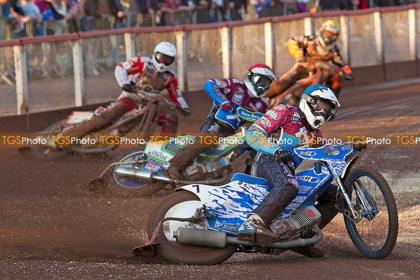 - Lakeside Hammers vs Wolverhampton Wolves - Sky Sports Elite League Speedway at Arena Essex Raceway, Purfleet - 20/07/12 - MANDATORY CREDIT: Ray Lawrence/TGSPHOTO - Self billing applies where appropriate - 0845 094 6026 - contact@tgsphoto.co.uk - NO UNPAID USE.