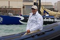 S.M. el Rey de España D.Juan Carlos I. VOLVO OCEAN RACE 2008-2009 start in Alicante, Spain, 11/10/2008