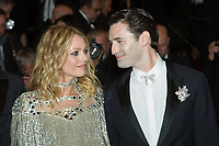 CANNES, FRANCE - MAY 17: Vanessa Paradis & Nicolas Maury attends the screening of 'Knife + Heart (Un Couteau Dans Le Couer)' during the 71st annual Cannes Film Festival at Palais des Festivals on May 17, 2018 in Cannes, France. <br /> <br /> Picture: Kristina Afanasyeva/Featureflash/SilverHub 0208 004 5359 sales@silverhubmedia.com
