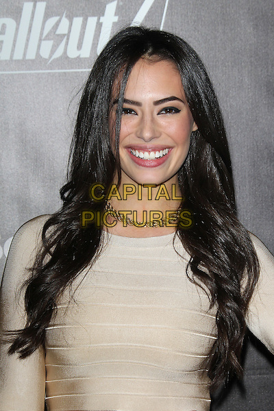 LOS ANGELES, CA - NOVEMBER 5: Chloe Bridges at the Fallout 4 video game launch event in downtown Los Angeles on November 5, 2015 in Los Angeles, California. <br /> CAP/MPI21<br /> &copy;MPI21/Capital Pictures