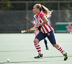 AMSTELVEEN -Mila Muyselaar (HDM)  .Hoofdklasse competitie dames, Hurley-HDM (2-0) . FOTO KOEN SUYK