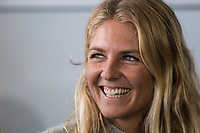 Margaret River, Western Australia    (Tuesday, April 10, 2018) Stephanie Gilmore (AUS) - The Margaret River Pro, Stop No. 3 on the World Surf League (WSL) Championship Tour (CT) is only one day away.<br /> Surfers, politicians and dignitaries attended a press session this morning at the contest site to kick off this year's event. Current ratings leaders Italo Ferreira (BRA) and Stephanie Gilmore (AUS), current World Champion John John Florence (HAW) and WA Minister for Tourism Paul Papalia were in attendance. Photo: joliphotos.com