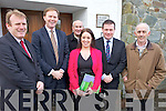 FUNDING: Members of the board of Kerry Community Transport who met with Minister Alan Kelly in Scartaglin on Thursday, l-r: Alan O'Connell (KCT), Arthur Spring TD, Brendan O'Connor (KCT), Carmel Walsh (KCT), Minister of State Alan Kelly, Bernard Collins (KCT).