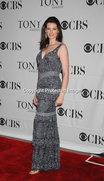 Kate Shindle..arriving at The 2007 Tony Awards on June 10, 2007 at ..Radio City Music Hall. ..Robin Platzer, Twin Images......212-935-0770