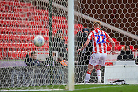 7th March 2020; Bet365 Stadium, Stoke, Staffordshire, England; English Championship Football, Stoke City versus Hull City; Sam Clucas of Stoke City after scoring a goal