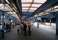 London: South Kensington Tube Station Platform. Photo '79.