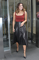 NEW YORK, NY June 06: Mandy Moore seen after an appearance on The Howard Stern Show in New York City on June 06, 2018. <br /> CAP/MPI/RW<br /> &copy;RW/MPI/Capital Pictures