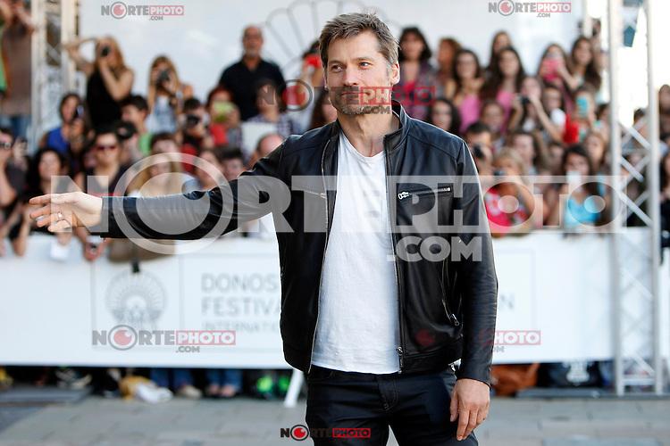 Actor Nikolaj Coster Waldau arrives to Maria Cristina Hotel during the 62st San Sebastian Film Festival in San Sebastian, Spain. September 20, 2014. (ALTERPHOTOS/Caro Marin) /NortePhoto.com /NortePhoto.com