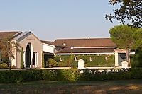 winery building chateau fieuzal pessac leognan graves bordeaux france