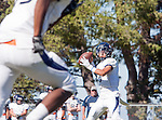 Palos Verdes, CA 09/24/16 - Ethan Gretzinger (Rolling Hills #5) in action during the non-conference CIF 8-Man Football  game between Rolling Hills Prep and Chadwick at Chadwick.