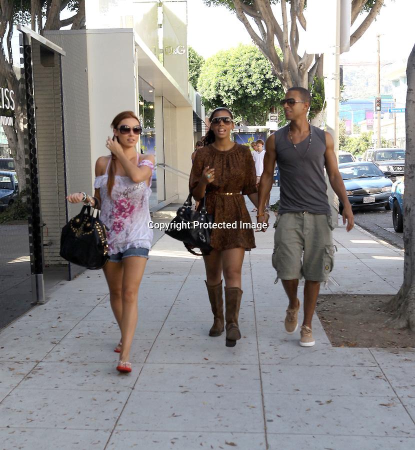 August 24th 2010  ..The Saturdays Frankie Una Mollie Rochelle Vanessa shopping  .On Robertson Blvd in Beverly Hills at Lisa Kline ...AbilityFilms@yahoo.com.805-427-3519.www.AbilityFilms.com