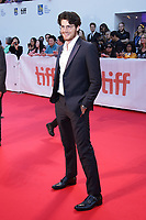 "TORONTO, ONTARIO - SEPTEMBER 05: Daniel Roher attends the ""Once Were Brothers: Robbie Robertson And The Band"" premiere during the 2019 Toronto International Film Festival at Roy Thomson Hall on September 05, 2019 in Toronto, Canada. <br /> CAP/MPIIS<br /> ©MPIIS/Capital Pictures"