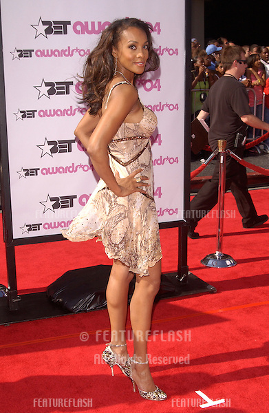 VIVICA A. FOX at the 2004 BET (Black Entertainment TV) Awards at the Kodak Theatre, Hollywood..June 29, 2004