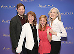 John Bolton, Caroline O'Connor, Christy Altomare and Mary Beth Peil  attend the ''Anastasia' Cast Photo Call at the New 42nd Street Studios on February 22, 2017 in New York City.