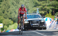 Adam Hansen (AUS/Lotto-Belisol) rode a strong finale and finishes 9th<br /> <br /> Tour of Turkey 2014<br /> stage 6
