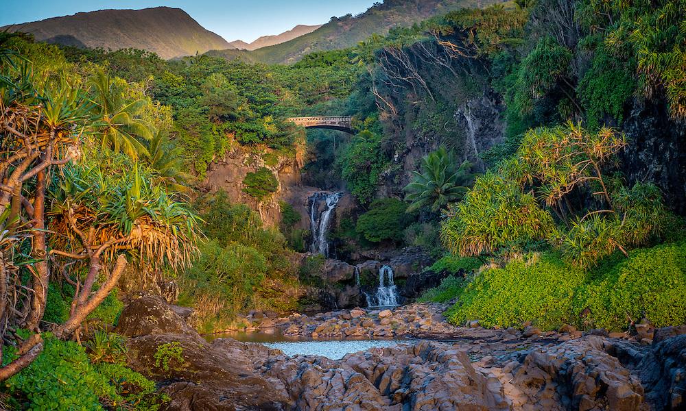 Seven Sacred Pools, Maui | Daniel Sullivan Photography