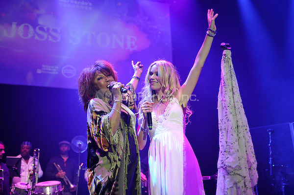 LONDON, ENGLAND - MAY 15: Linda Lewis and Joss Stone performing at Camden Roundhouse on May 15, 2016 in London, England.<br /> CAP/MAR<br /> &copy;MAR/Capital Pictures /MediaPunch ***NORTH AMERICA AND SOUTH AMERICA ONLY***