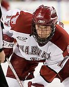 Tyler Magura (Harvard - 17) - The Northeastern University Huskies defeated the Harvard University Crimson 3-1 in the Beanpot consolation game on Monday, February 12, 2007, at TD Banknorth Garden in Boston, Massachusetts.
