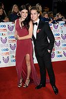 LONDON, UK. October 29, 2018: Lauren Steadman &amp; AJ Pritchard at the Pride of Britain Awards 2018 at the Grosvenor House Hotel, London.<br /> Picture: Steve Vas/Featureflash