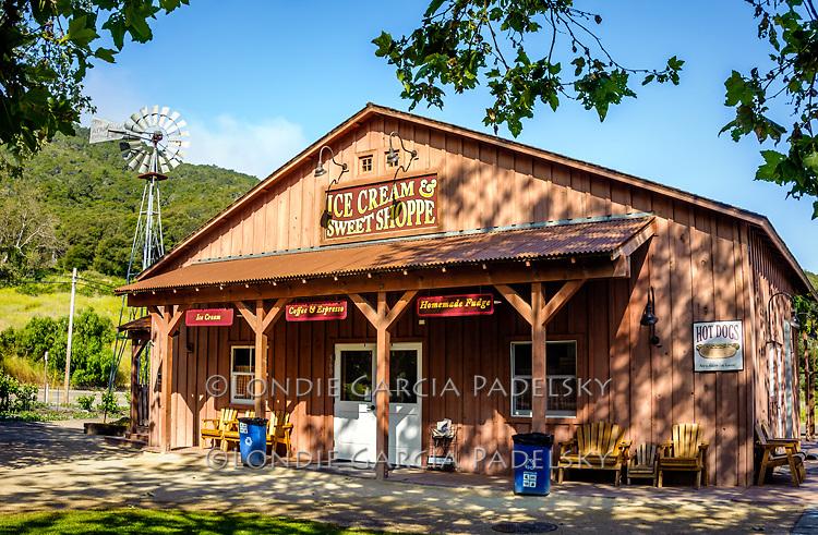 Sweet Shoppe at Avila Valley Barn,  in Avila Valley, San Luis Obispo County, California