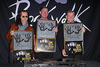 RUSH Guitar Center RockWalk