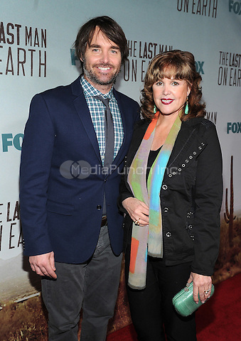 LOS ANGELES - FEBRUARY 24: Will Forte and his mother Patricia Forte arrive at an exclusive screening of the premiere episode of FOX's 'The Last Man on Earth' at Big Daddy's Antique Shop on February 24, 2015 in Los Angeles, California. Credit: PGFM/MediaPunch