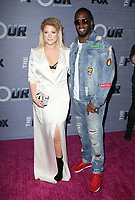 WEST HOLLYWOOD, CA - FEBRUARY 8: Meghan Trainor and Sean Combs at the season finale viewing party for The Four: Battle For Stardom at Delilah in West Hollywood, California on February 8, 2018. Credit: Faye Sadou/MediaPunch