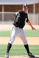 Wes Whisler, Chicago White Sox 2010 minor league spring training..Photo by:  Bill Mitchell/Four Seam Images.