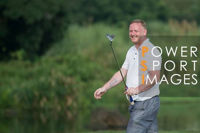 David May plays during the World Celebrity Pro-Am 2016 Mission Hills China Golf Tournament on 23 October 2016, in Haikou, Hainan province, China. Photo by Marcio Machado / Power Sport Images