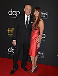 Joseph Cortese and guest  arrives at the 23rd Annual Hollywood Film Awards at The Beverly Hilton Hotel on November 03, 2019 in Beverly Hills, California