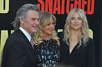 www.acepixs.com<br /> <br /> May 10 2017, LA<br /> <br /> Kurt Russell, Goldie Hawn, Kate Hudson arriving at the premiere of 'Snatched' at the Regency Village Theatre on May 10, 2017 in Westwood, California<br /> <br /> By Line: Peter West/ACE Pictures<br /> <br /> <br /> ACE Pictures Inc<br /> Tel: 6467670430<br /> Email: info@acepixs.com<br /> www.acepixs.com