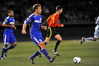 Jimmy Conrad...Kansas City Wizards defeated Colorado Rapids 1-0 at Community America Ballpark, Kansas City, Kansas.