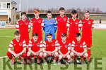 Cork City U17  SSE Airtricity U17 League of Ireland Kerry  V  Cork City at Mounthawk Park on Sunday
