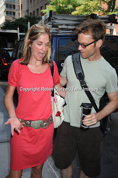 Kassie DePaiva and Trevor St John..at The One Life to Live 40th Anniversary luncheon on     July 15, 2008 at their studio in New York City. ....Robin Platzer, Twin Images
