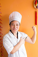 Chef Xiaoming at Dim Sum House in Morrisville, N.C. on Saturday, March 29, 2014. (Justin Cook)