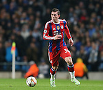 Pierre-Emile H?jbjerg of Bayern Munich  - UEFA Champions League group E - Manchester City vs Bayern Munich - Etihad Stadium - Manchester - England - 25rd November 2014  - Picture Simon Bellis/Sportimage