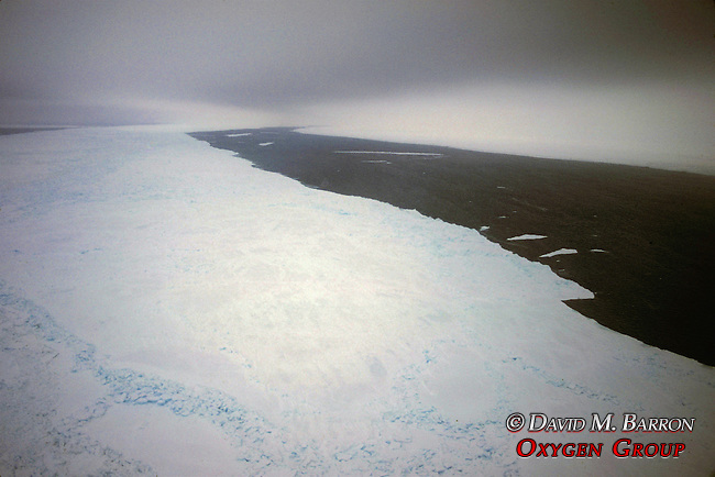View Of Ice Pack From Helicopter