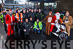 Kerry Bikers holding a Toy Run around the Ring of Kerry this weekend and money collected will be divided equally between parents and friends Mount Eagle Lodge Tralee branch and Saint Francis Special School Killarney. <br /> Front right: l to r: Kay and David Foley and John Fry