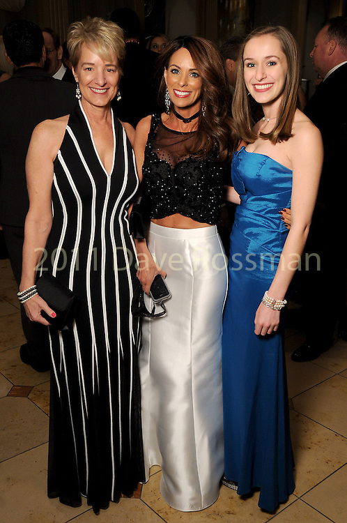 From left: Brenda Koch, Amiko Kauderer and Emily Koch at the 20th San Luis Salute Friday Feb. 05, 2016.(Dave Rossman photo)