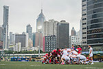 Tonga vs Georgia during the Day 1 of the IRB Junior World Rugby Trophy 2014 at the Hong Kong Football Club on April 7, 2014 in Hong Kong, China. Photo by Aitor Alcalde / Power Sport Images