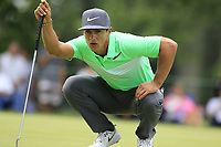 Thorbjorn Olesen (DEN) on the 2nd green during Sunday's Final Round of the WGC Bridgestone Invitational 2017 held at Firestone Country Club, Akron, USA. 6th August 2017.<br /> Picture: Eoin Clarke | Golffile<br /> <br /> <br /> All photos usage must carry mandatory copyright credit (&copy; Golffile | Eoin Clarke)