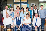 New Arrival<br /> ----------------<br /> Kieran&amp;Caroline O'Neill from Currow Christened baby Lorcan in the Church of the Immaculate Conception, Currow by Fr John Buckley last Saturday and held a family celebration in the Ballyroe Heights hotel, Tralee afterwards.