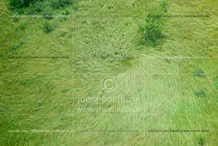 Uganda wind trouser  -  aerial view / Uganda Windhose - Luftbild